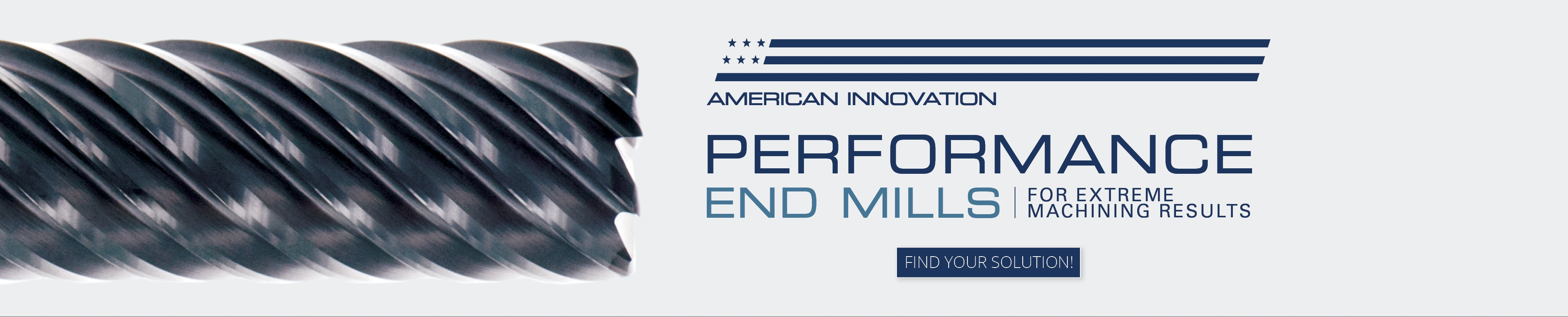 Performance End Mills Banner