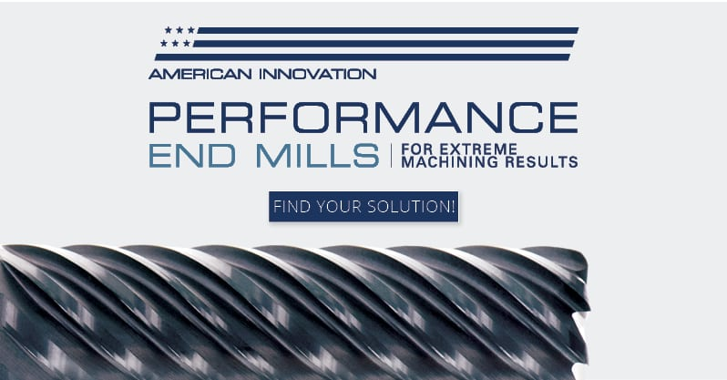 Performance End Mill Banner